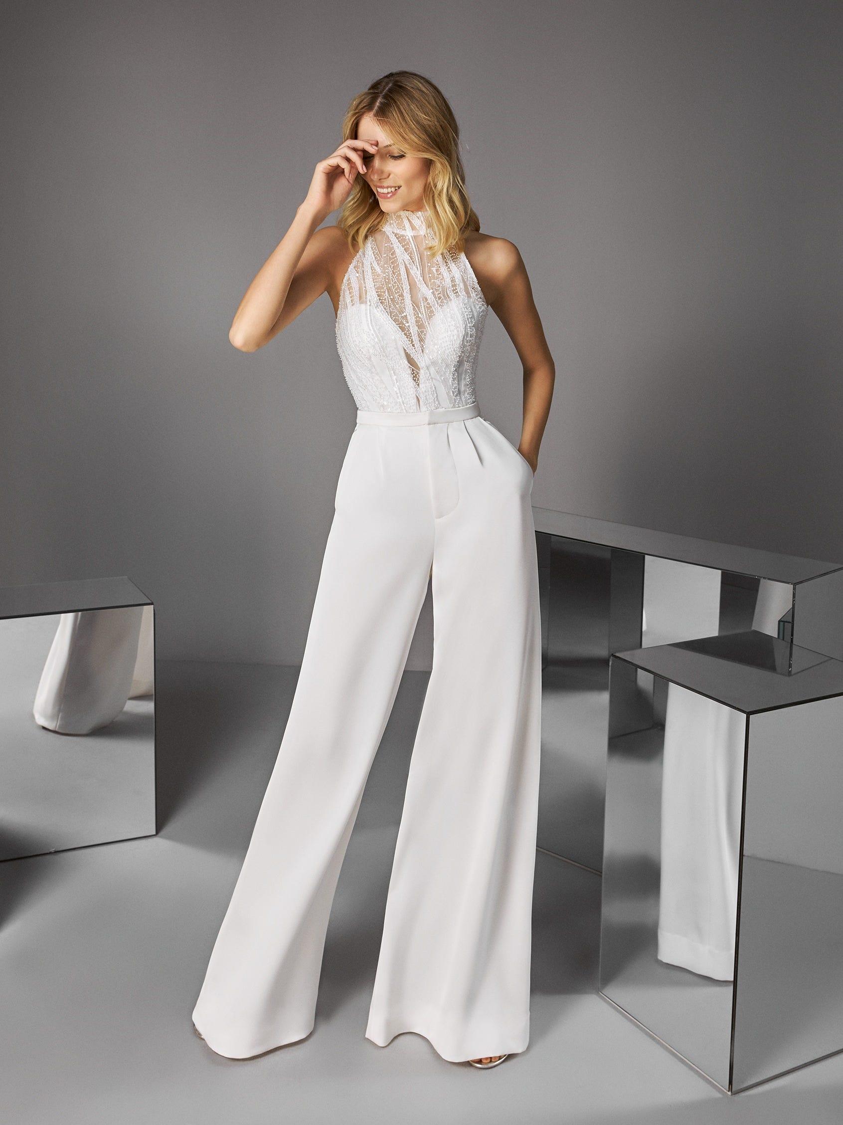 Vestido de novia dos piezas Pronovias