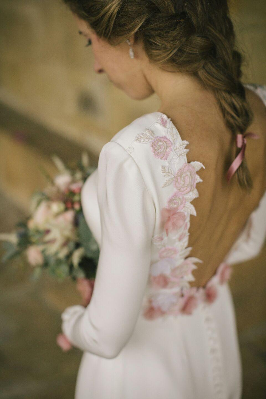 Vestido de novia Yolanda Torres