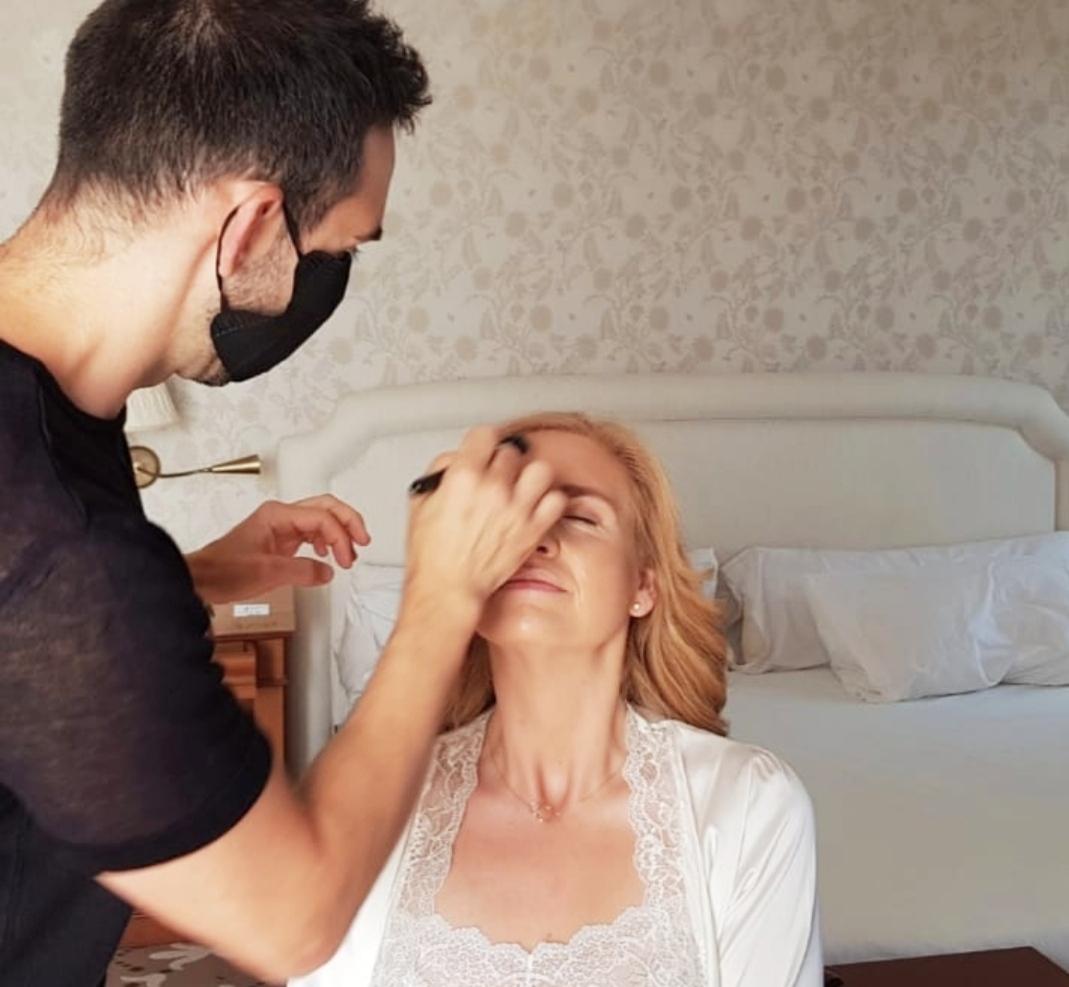 Maquillador Eli - Boda en tiempos de coronavirus