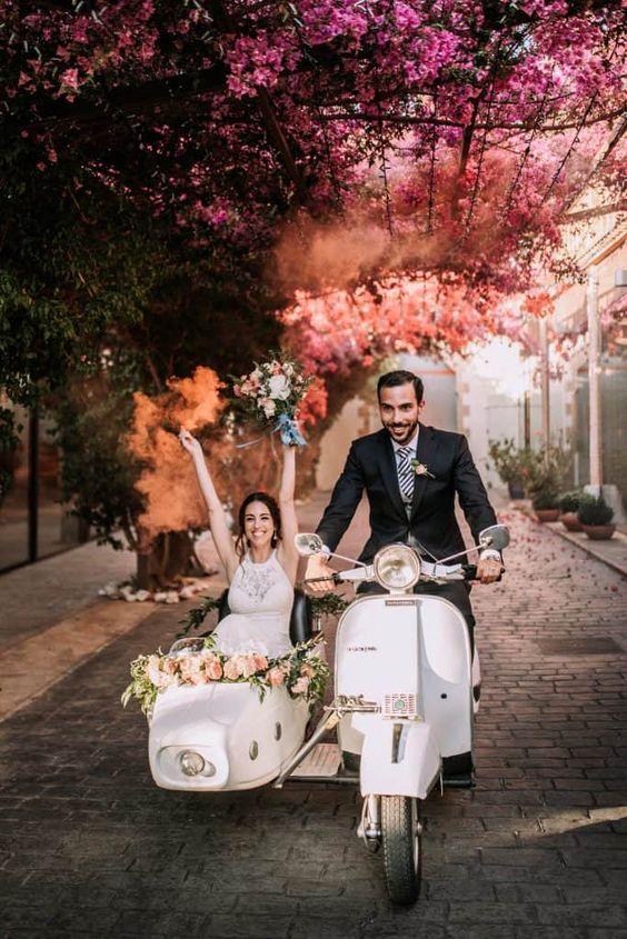 Wedding Vespa