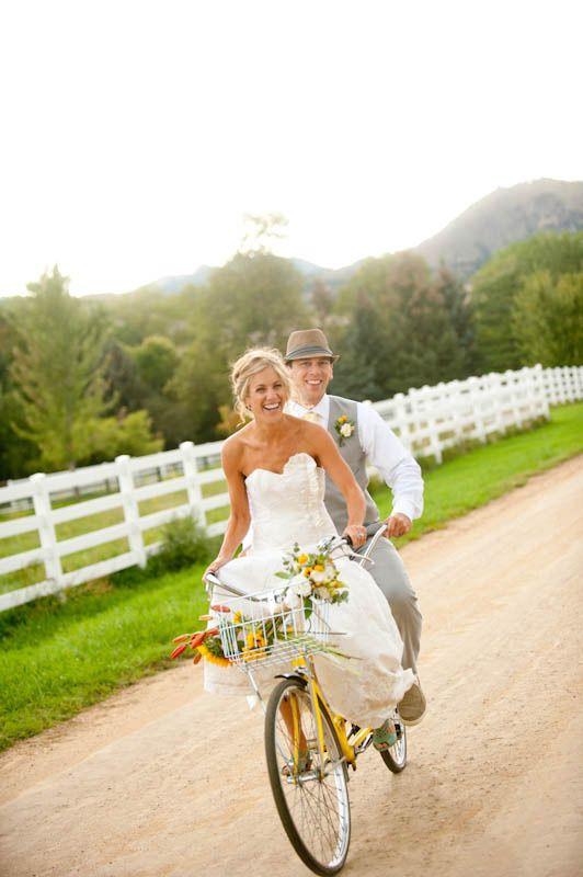 Wedding bike para llegar a tu boda