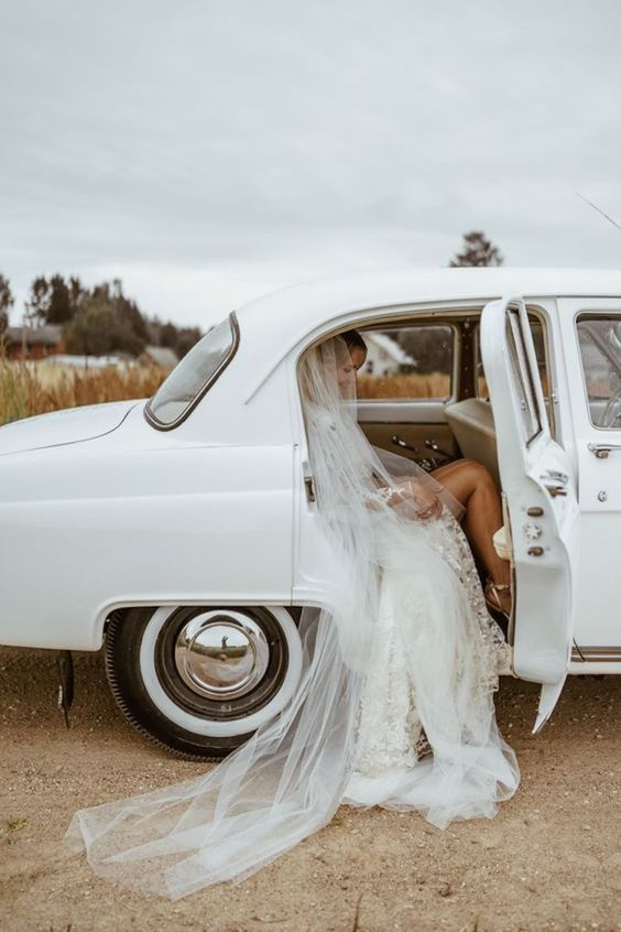 Limusina para llegar a tu boda